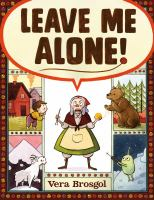 Book Jacket for: Leave me alone