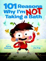Book Jacket for: 101 reasons why I'm not taking a bath