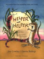 Book Jacket for: Helper and helper : Snake and Lizard