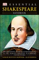 Book Jacket for: Essential Shakespeare handbook